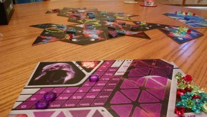 Galaxy of Trian player board