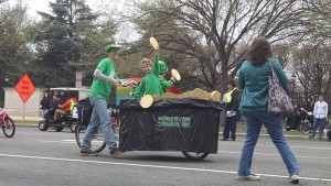 Pot 'o Gold in the St. Paddy's parade