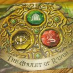 Broken amulet card